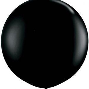 "Onyx Black 36"" Latex Balloon"