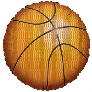 Basketball Shape 18in. Mylar Balloon