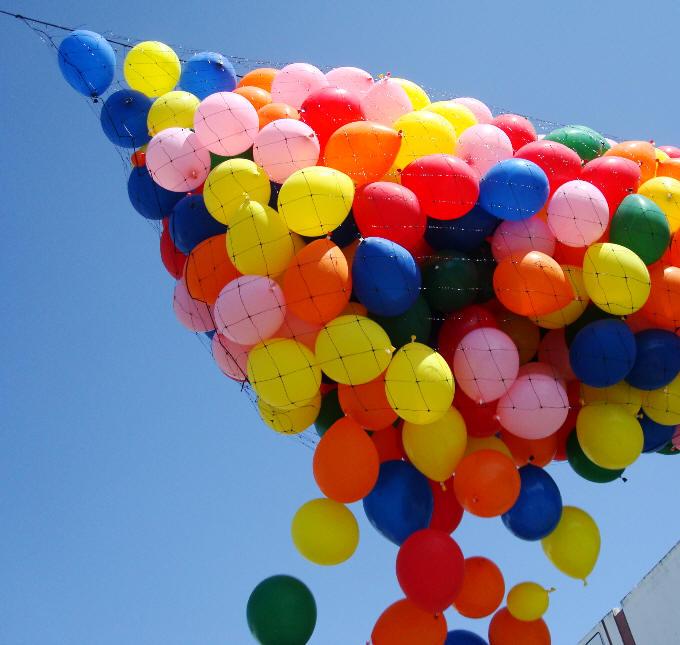 Balloon Drop Net Prestrung 14ft X 25ft Bnp25 Balloon