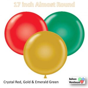 red-gold-green-17in