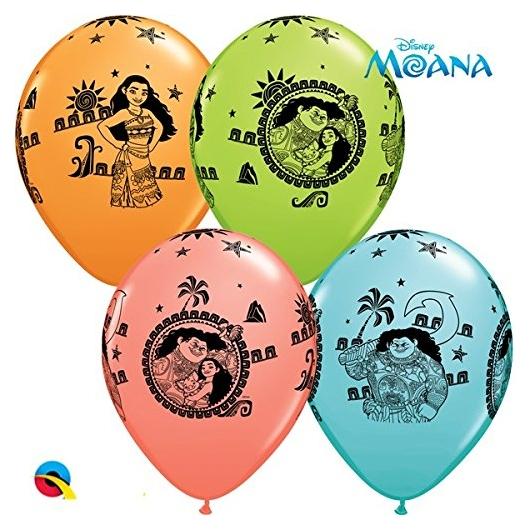 11 Disney Moana Maui Latex Balloons 25 Bag