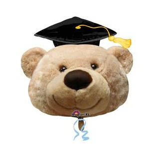"27/"" Graduation Bear Grad Balloon"