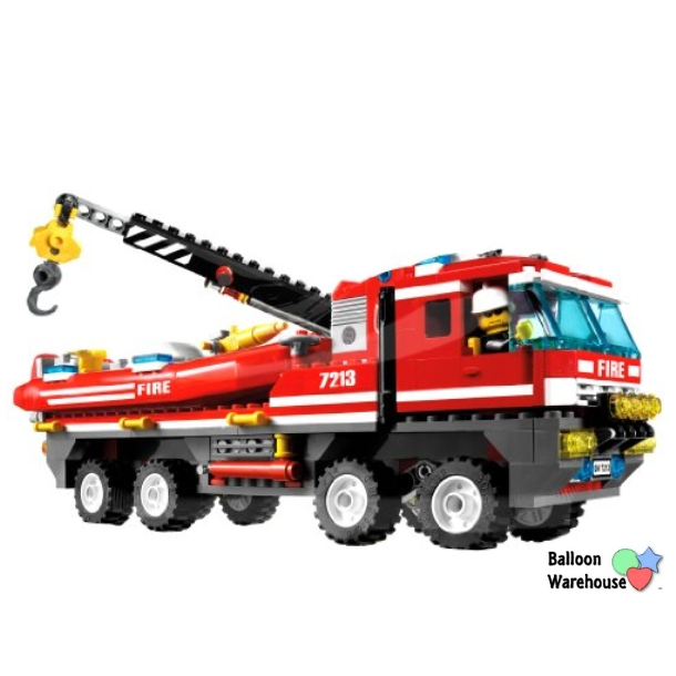 """32"""" Lego City Fire Engine Shaped - All Occasion - Foil Balloon ..."""