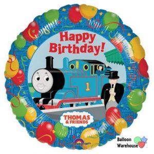 Little Chug Train Mylar Balloon