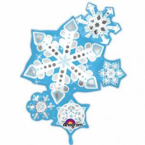 "35"" Frosty Snowflake"