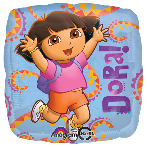 round shape 18 inches Dora The Explorer Foil balloon