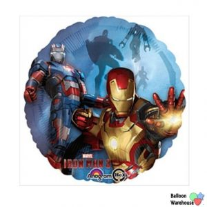"""17"""" Iron Man 3 Foil Balloon"""