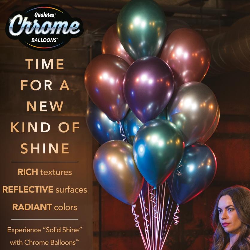 Chrome Balloons Latex Balloons By Qualatex Balloon