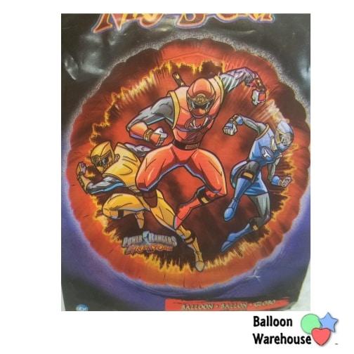 18 Power Rangers Ninja Storm Foil Balloon Balloon Warehouse