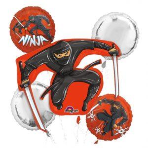 Ninja Bouquet Of Balloons