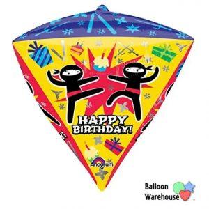 """17"""" Ninja Birthday Diamondz"""