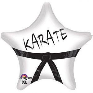 Karate Star 19 in. Foil Balloon