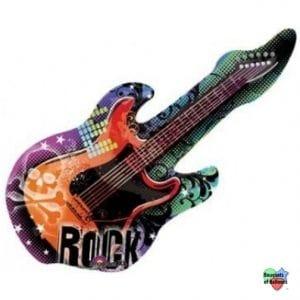 43 Guitar Helium Shape