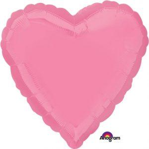 Bright Bubblegum Pink Heart