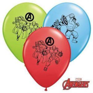 """11"""" Qualatex Marvels Avengers Latex"""