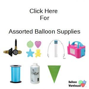 Assorted Balloon Supplies