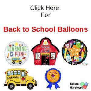 Back to School & Teacher Appreciation Balloons