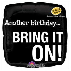 Bring it on! Birthday Balloon