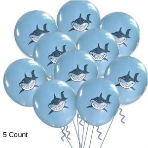 Shark Latex Balloons