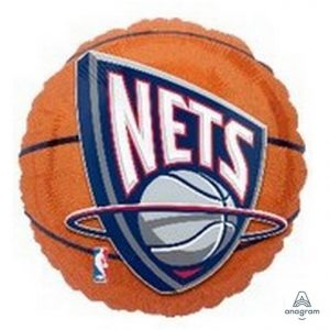 NBA New Jersey Nets 18in. Mylar Balloon