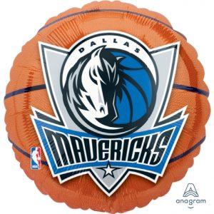 NBA Dallas Mavericks 18in. Mylar Balloon