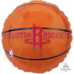 NBA Houston Rockets 18in. Mylar Balloon