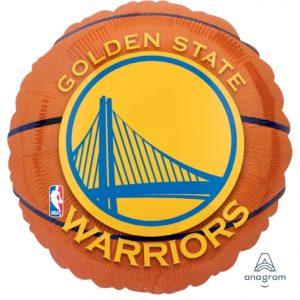 Golden State Warriors 18in. Mylar Balloon
