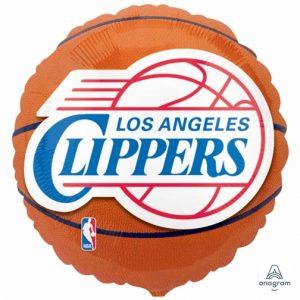 LA Clippers 18in. Mylar Balloon