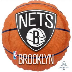 NBA Brooklyn Nets 18in. Mylar Balloon