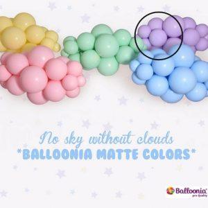 Matte Lavender Balloonia Latex Balloons