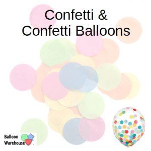 Confetti & Confetti Balloons