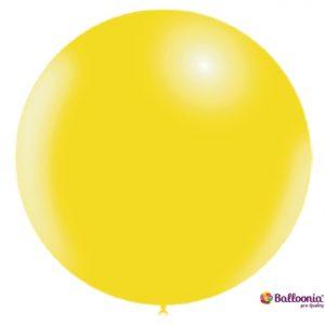 Lemon Yellow Latex Balloon FTP22