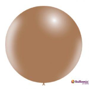 Marrón Brown Latex Balloons