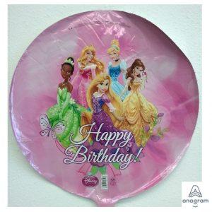 "18"" Disney Princesses Happy Birthday - Foil Balloon (1 Sided)"