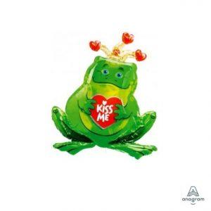 Frog Prince Kiss Me Balloon