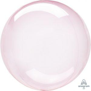 """10"""" Crystal Clearz Petite - Dark Pink"""