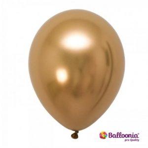 Brilliant Gold Latex Balloons