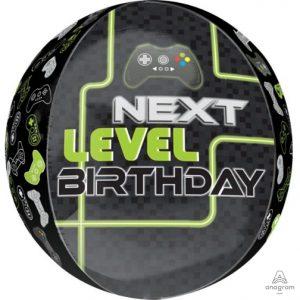 """16"""" Level Up Birthday Orbz"""