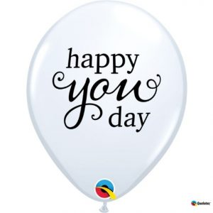 """11"""" Simply Happy You Day Latex Balloons"""