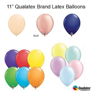 11 Inch Qualatex Latex Balloons