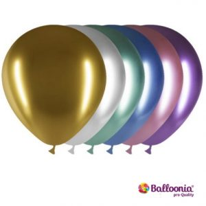 Balloonia Brand Brilliant Assorted Color Latex Ballons