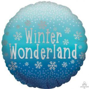 """17"""" Satin Winter Wonderland"""