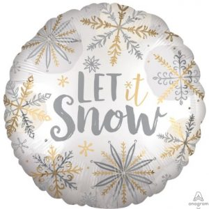 """18"""" Satin Shining Snow"""