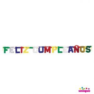Deluxe Feliz Cumpleanos Jointed Banner