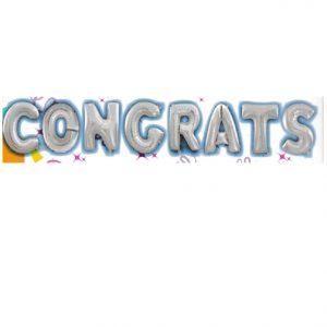 "16"" Congrats Balloon Letter Kit"