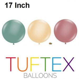17 Inch Tuftex Latex Balloons