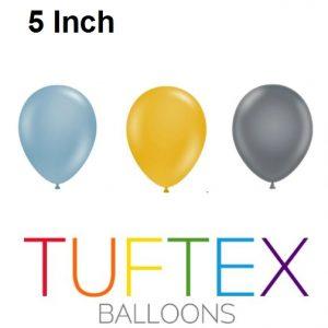 05 Inch Tuftex Latex Balloons