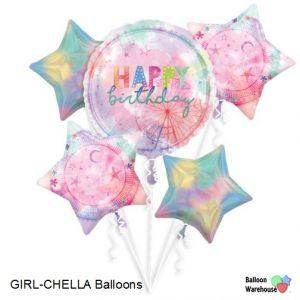 Girl-Chella Balloons